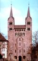 Die Fassade des Westwerks von Kloster Corvey, 1996 / Münster, LWL-Medienzentrum für Westfalen/S. Sagurna