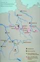 Karte: Kloster Corvey im hochmittelalterlichen Reformmönchtum