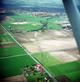 Luftbild: Untertägige Spuren einer der Erweiterungslandwehren im Südosten des mittelalterlichen Stadtfeldes von Ahlen / Münster, Westfälisches Museum für Archäologie/J.-S. Kühlborn