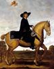 Anon. [Wolfgang Heimbach zugeschrieben]: Fürstbischof Christoph Bernhard von Galen zu Pferde / Münster, Stadtmuseum / Münster, Stadtmuseum/Tomas Samek