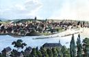 Prag: Historische Ansicht, Lebensstation des Freiherrn vom Stein 1809-1812 / Münster, LWL-Medienzentrum für Westfalen/Karl Franz Klose