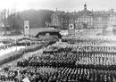 Münster, Hindenburgplatz: NS-Aufmarsch vor dem Schloss, 1935 / Münster, Universitätsarchiv