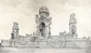 Dortmund-Hohensyburg: Denkmal für Kaiser Wilhelm I. [vor 1909] / Paderborn, Verein für Geschichte und Altertumskunde Westfalens, Abt. Paderborn e. V.
