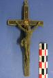 Kruzifix aus der in der Nacht vom 20.02.1945/21.02.1945 bei Hagen abgeschossenen Lancaster der RAF, vermutlich im Cockpit angebracht / Hagen, Historisches Centrum / Hagen, Historisches Centrum/Jörg Orschiedt