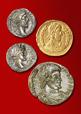 Römische Münzen aus Gold, Silber und Kupfer aus Kamen-Westick / LWL-Archäologie für Westfalen / Bielefeld, LWL-Archäologie für Westfalen, Außenstelle
