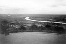 Porta Westfalica: Blick vom Kaiser-Wilhelm-Denkmal über die Weser und das Mindener Land, um 1923 / Münster, Westfälisches Landesmedienzentrum