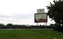 """Hinweisschild auf das """"Varusjahr 2009"""" an der Autobahn A2, Ostwestfalen / Marcus Weidner"""
