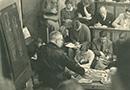 Berlin: Blick in eine Anatomievorlesung von Prof. Stieve in der Friedrich-Wilhelms-Universität, Wintersemester 1939/40 / Privatbesitz Gaby Engel