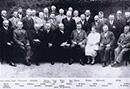 Elisabeth Reckmann im Kreise ihrer Kollegen aus dem Beckumer Kreis, ca. 1925 / Warendorf, Kreisarchiv