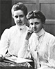 Die beiden Mathematikstudentinnen Marie Torhorst (1888-1989) und Adelheid Torhorst (1884-1968) im Jahr 1911 / Berlin, Deutsches Institut für Internationale Pädagogische Forschung; Nachlass Marie Torhorst