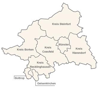 Regierungsbezirk Münster