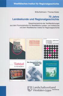Cover 75 Jahre Landeskunde und Regionalgeschichte