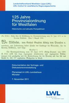 125 Jahre Provinzialordnung