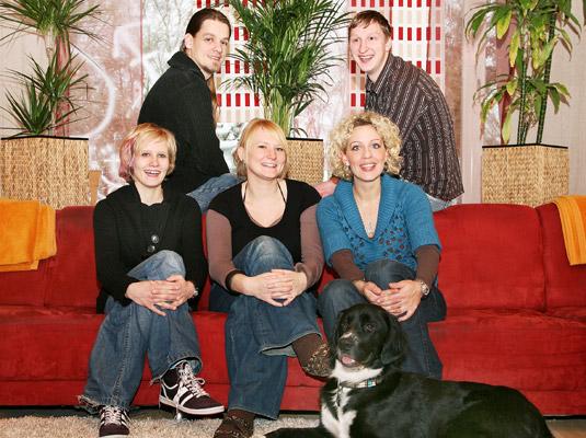 Das Team der Wohngruppe Lengerich