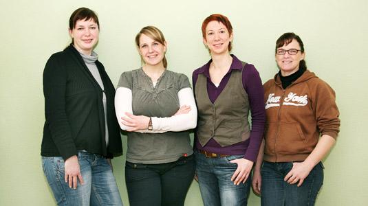 Das Team der Sozialpäd. Tagesgruppe Laggenbeck