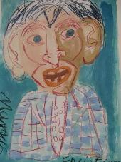 Gemälde eines Bewohners