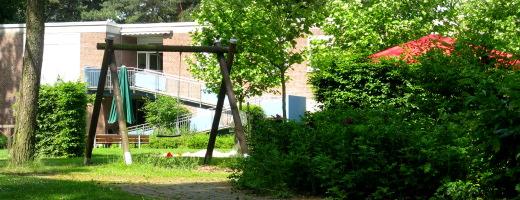 Gartenansicht von Haus 5