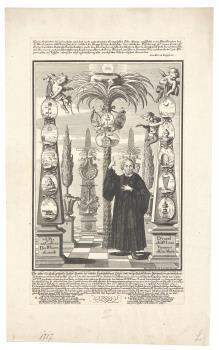 Gedenkblatt zur Zweihundertjahrfeier der Reformation in der Augsburger St. Ulrich-Kirche