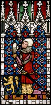 Graf Johann II. von Saarbrücken (?) als Stifter